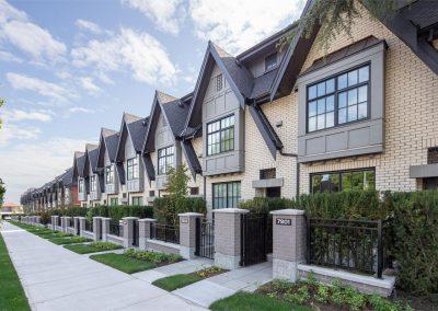 Oak & Park Townhomes – Vancouver, BC